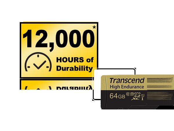 High Endurance microSDXC/SDHC