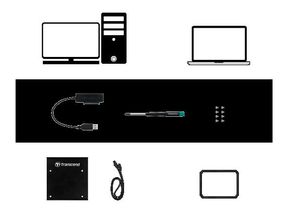 """2 5"""" SSD Installation Kit"""