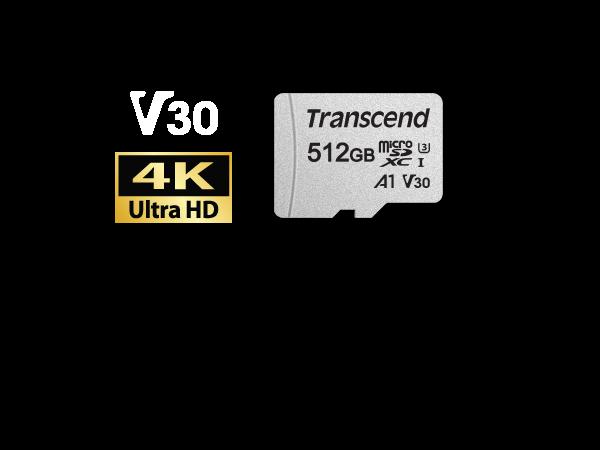 Transcend Microsdxcsdhc 300s Card