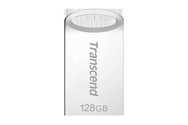 TRANSCEND JETFLASH 710 32GB USB 3.1//3.0 USB FLASH DRIVE Metal Silver