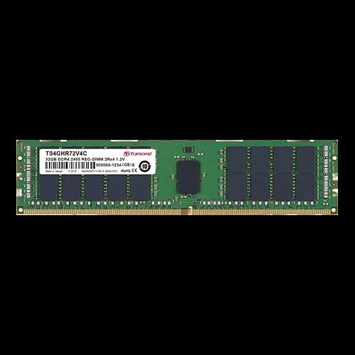Transcend DDR4/2400/MHz 4GB DIMM 1Rx8/1.2/V CL17