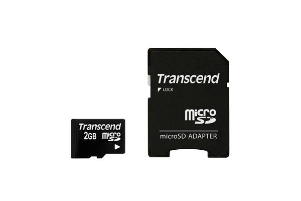 Transcend TS1GUSD Tarjeta de Memoria Micro SD de 1 GB con 1 Adaptador