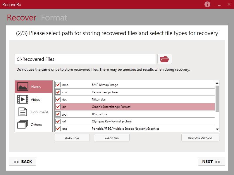 Transcend RecoveRx 3.8 - Ücretsiz Veri Kurtarma Yazılımı - Windows ve MAC